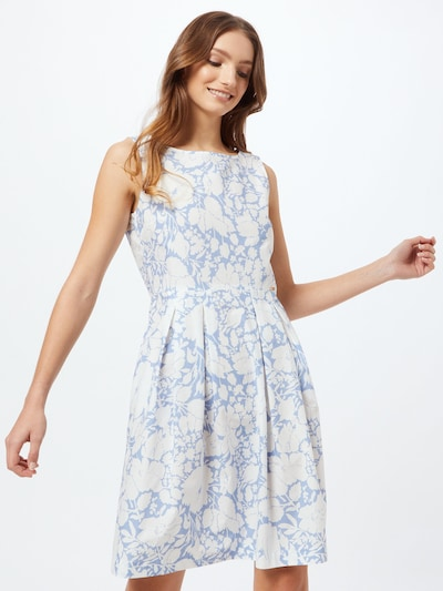 CINQUE Šaty 'ESTRELLA' - modrá / bílá, Model/ka