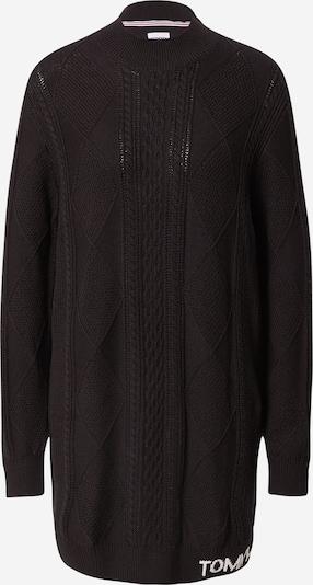 Tommy Jeans Gebreide jurk in de kleur Zwart / Wit, Productweergave