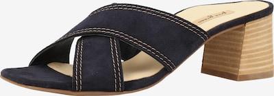 Paul Green Pantolette in navy, Produktansicht