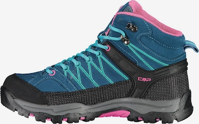 CMP Wanderschuh ' Rigel MID WP ' in blau / pink / schwarz, Produktansicht
