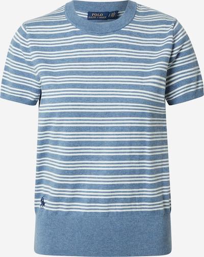 POLO RALPH LAUREN Pullover in blaumeliert / offwhite, Produktansicht