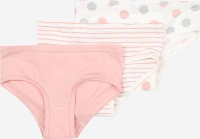 SANETTA Unterhose in grau / rosa / weiß: Frontalansicht