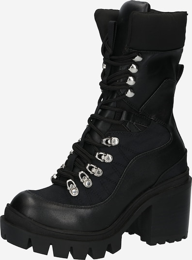 Jeffrey Campbell Lace-Up Ankle Boots 'MANIAC' in Black, Item view