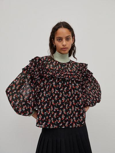Bluză 'Tatiana' EDITED pe mai multe culori / roșu / negru, Vizualizare model