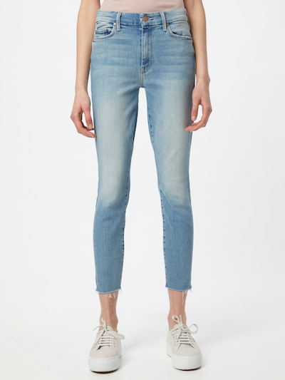 MOTHER Jeans 'THE LOOKER' in blue denim, Modelansicht