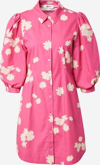 modström Shirt dress 'Milan' in Pink / White, Item view