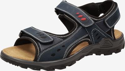 SIOUX Sandale 'Oneglio-700' in dunkelblau / rot / schwarz / weiß, Produktansicht
