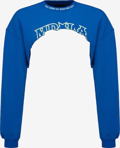 Magdeburg Los Angeles Sweatshirt 'PONYHOF' in blau / weiß, Produktansicht