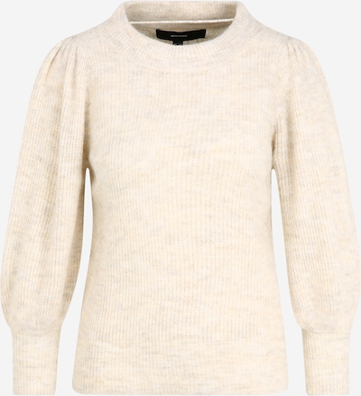 Vero Moda Petite Sweter 'ELLA' w kolorze nakrapiany beżm, Podgląd produktu