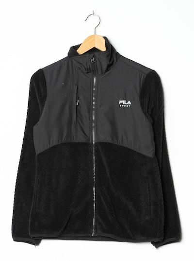 FILA Fleece in S in schwarz, Produktansicht
