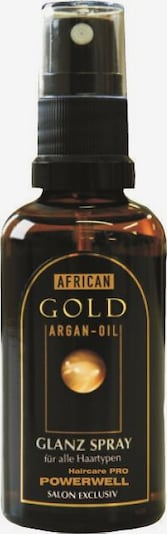African Gold Haarspray 'Powerwell' in transparent, Produktansicht