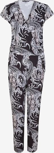 COMMA Jumpsuit in schwarz / weiß, Produktansicht