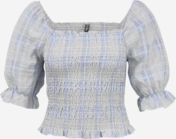 Pieces Petite - Blusa 'TALLULAH' en azul