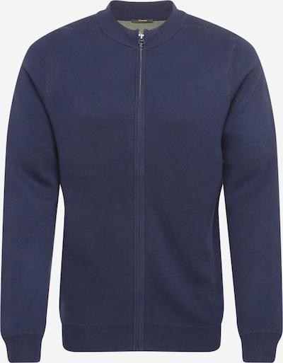 DENHAM Gebreid vest in de kleur Navy, Productweergave
