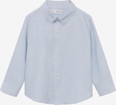 MANGO KIDS Overhemd 'OXFORD' in de kleur Lichtblauw, Productweergave