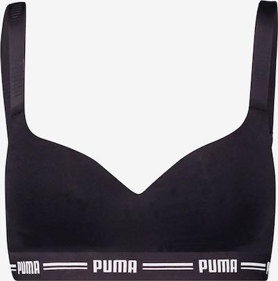 PUMA BH in de kleur Zwart / Wit, Productweergave
