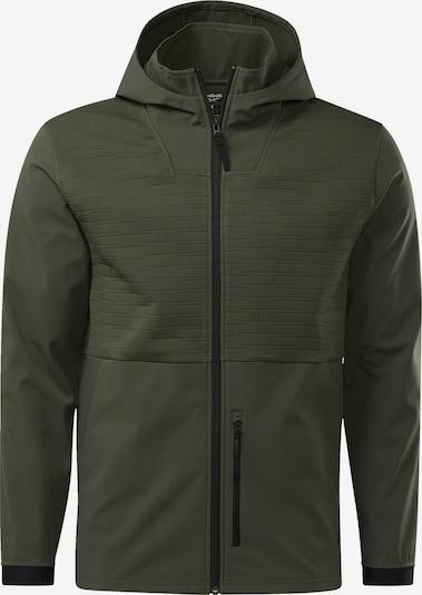 REEBOK Jacke in grün: Frontalansicht