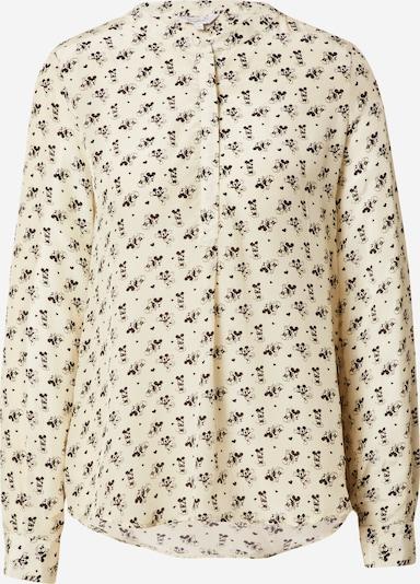 Frogbox Blusa 'Mickey' en beige / negro, Vista del producto