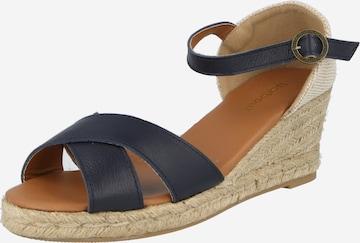 Barbour Strap Sandals 'Angeline' in Blue