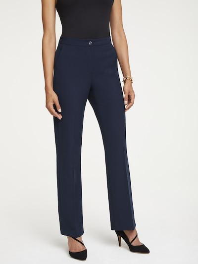 heine Pantalon en bleu nuit, Vue avec modèle