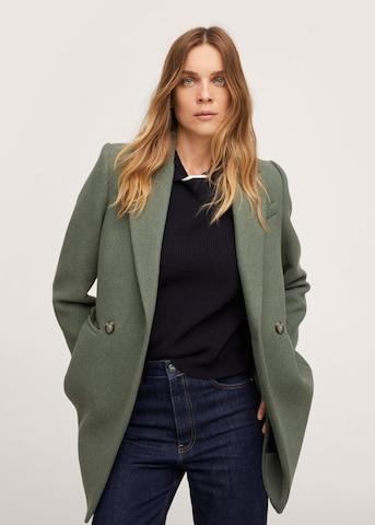 MANGO Átmeneti kabátok 'Dali' - zöld