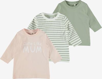 Marškinėliai 'Filuca' iš NAME IT, spalva – kremo / obuolių spalva / persikų spalva / balta, Prekių apžvalga