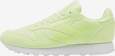 Reebok Classic Sneaker in gelb: Frontalansicht