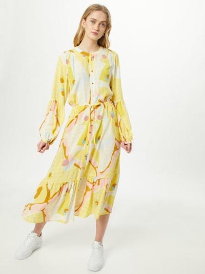 NÜMPH Kleid 'Nucasey' in gelb / mischfarben, Modelansicht