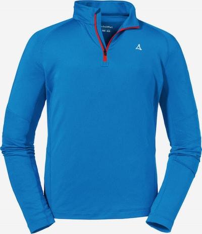 Schöffel Shirt 'Glatthorn' in blau, Produktansicht