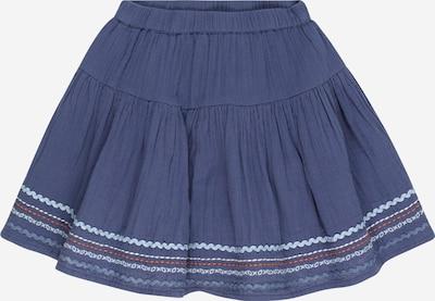 BASEFIELD Suknja u golublje plava / svijetloplava / hrđavo smeđa / bijela, Pregled proizvoda