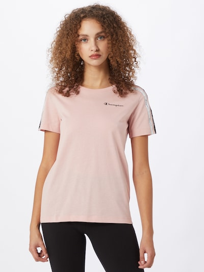 Champion Authentic Athletic Apparel T-Shirt in navy / rosa / weiß: Frontalansicht
