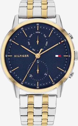 TOMMY HILFIGER Analogové hodinky - námořnická modř / růžově zlatá / stříbrná, Produkt