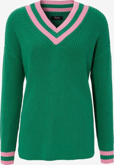 Aniston CASUAL Pullover in grau / rosa, Produktansicht