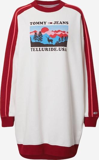 Suknelė iš Tommy Jeans , spalva - mėlyna / rožinė / raudona / juoda / balta: Vaizdas iš priekio
