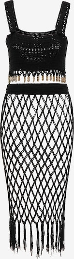 MYMO Top und Rock in schwarz, Produktansicht