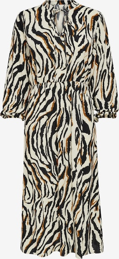 ONLY Blusenkleid 'Gaga' in beige / braun / schwarz, Produktansicht