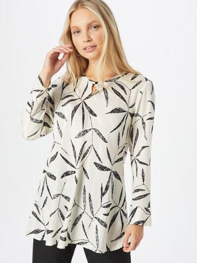 Bluză 'Danita' Masai pe negru / alb, Vizualizare model