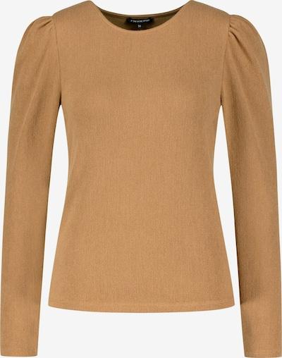 ONE MORE STORY Langarmshirt mit Puffärmeln in braun, Produktansicht