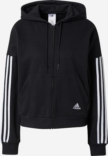ADIDAS PERFORMANCE Bluza rozpinana sportowa w kolorze czarny / białym, Podgląd produktu