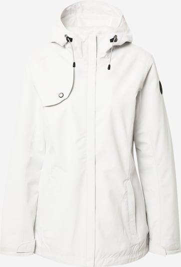 ICEPEAK Ulkoilutakki 'Aniak' värissä musta / valkoinen, Tuotenäkymä