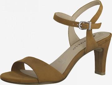 TAMARIS Sandale in Braun