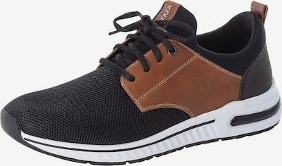 Sneaker bassa RIEKER di colore caramello / nero, Visualizzazione prodotti