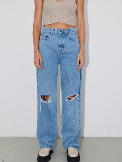 LeGer by Lena Gercke Jeans 'Lea' in blue denim, Modelansicht
