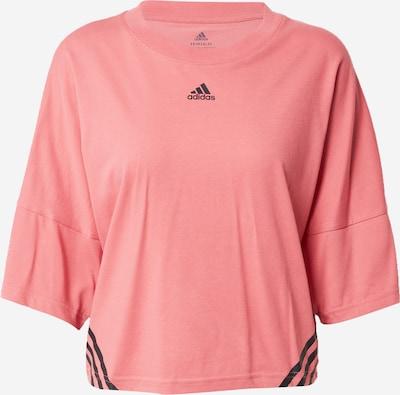 ADIDAS PERFORMANCE T-Shirt in altrosa / schwarz, Produktansicht