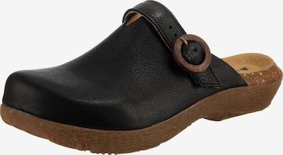 EL NATURALISTA Clogs 'Wakatiwai' in schwarz, Produktansicht