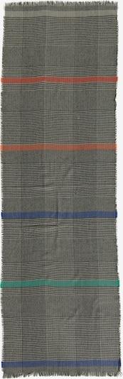Cartoon Basic-Schal mit Fransen in blau / grau / grün / pfirsich / schwarz / weiß, Produktansicht
