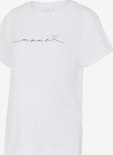 Maglietta 'Mira' MAMALICIOUS di colore nero / bianco, Visualizzazione prodotti