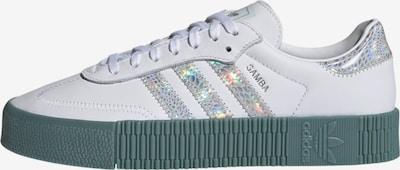 ADIDAS ORIGINALS Trampki niskie 'Sambarose' w kolorze zielony / srebrny / białym, Podgląd produktu