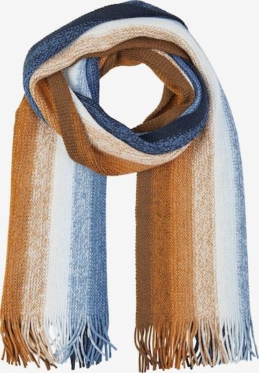 DANIEL HECHTER Schal in blau / braun / weiß, Produktansicht