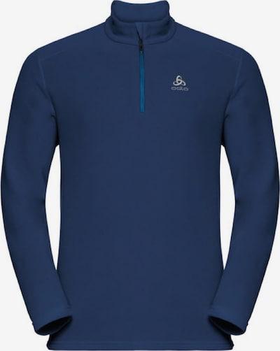 ODLO Pullover 'Midlayer 1/2 zip LE TOUR' in blau, Produktansicht